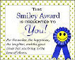Send a Smiley Award ~ Send an Award to Your Friends